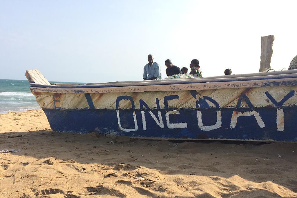 Strandtag in Togo, Lomé