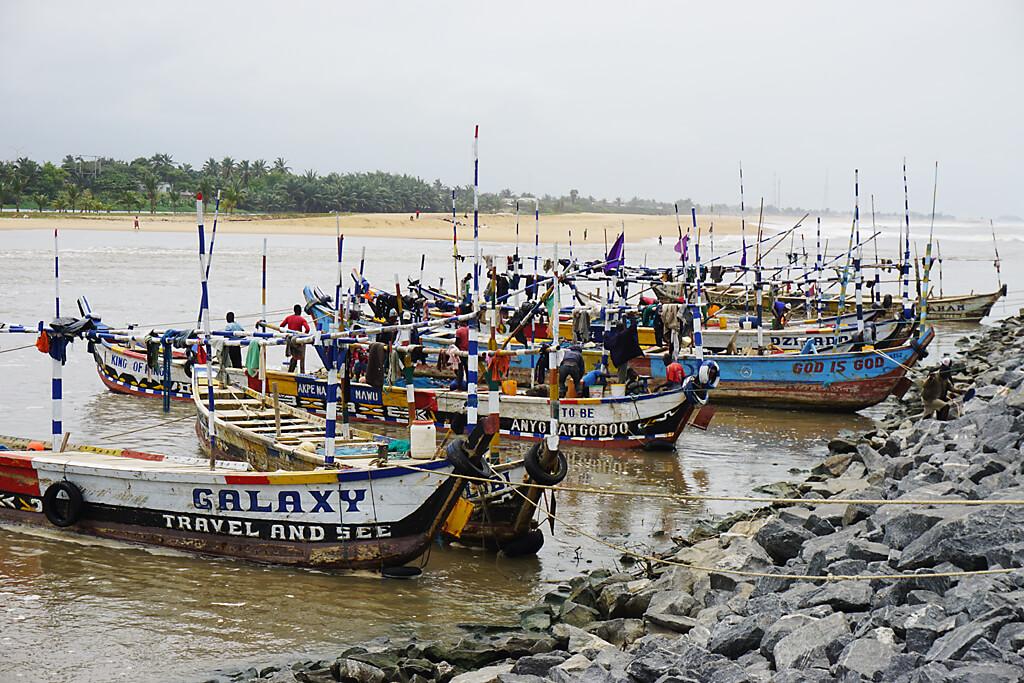 Hafen von Aneho, Togo