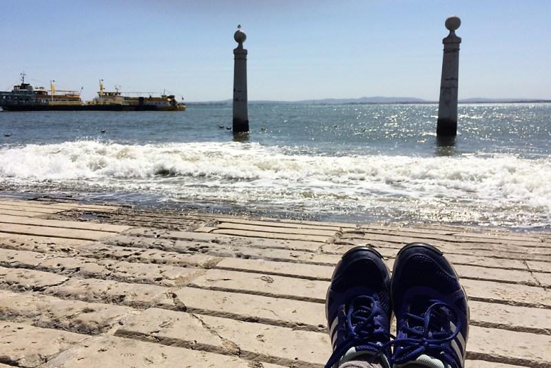 Tejo in Lissabon