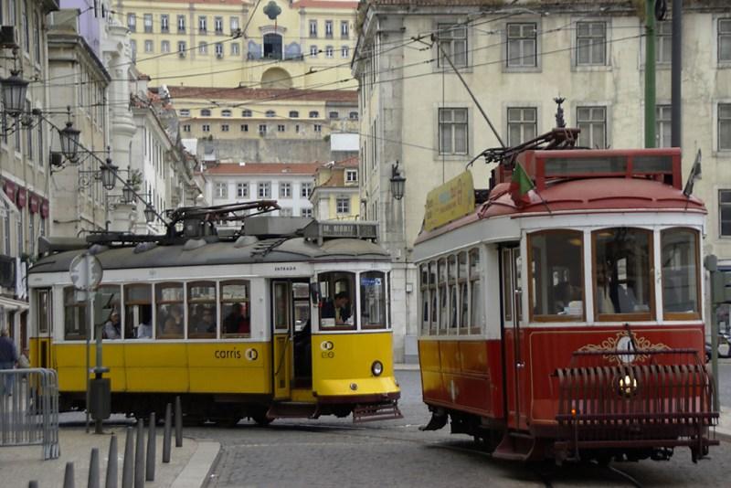 Tram von Lissabon