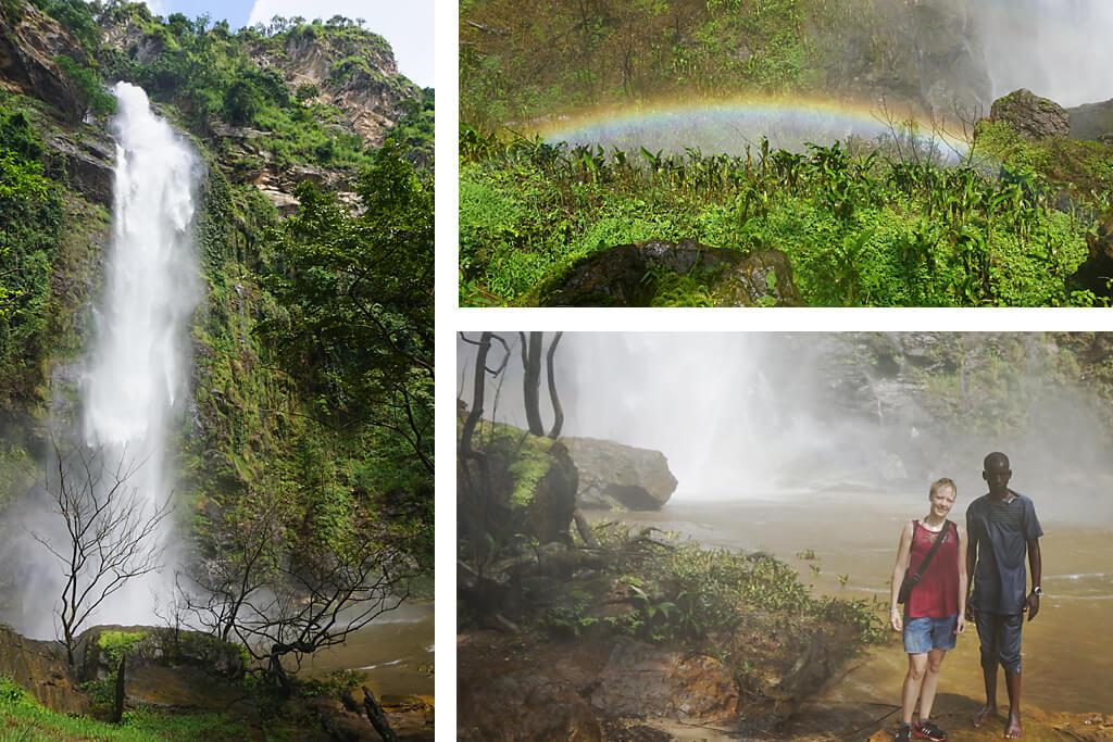 Togos höchster Wasserfall