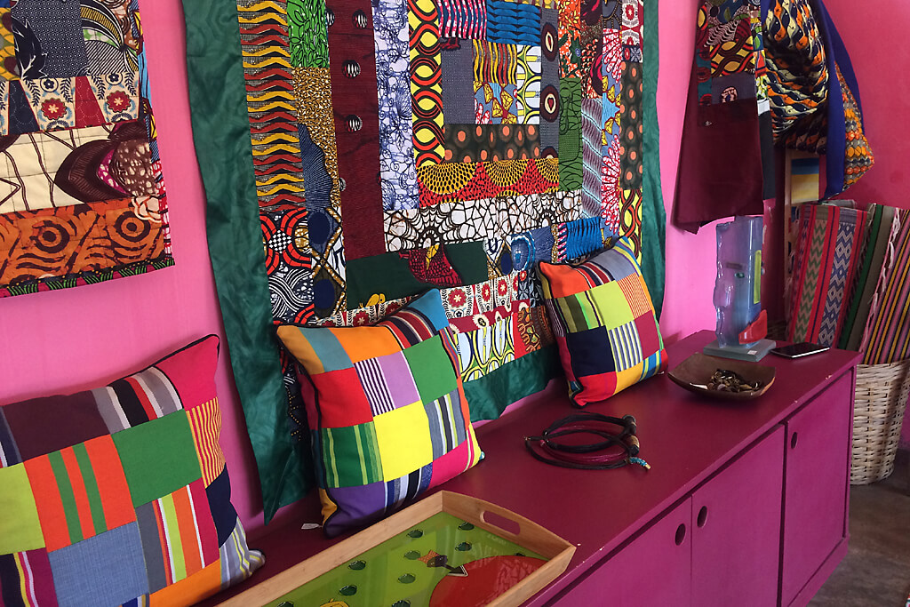 Boutique in Kodjeviakopé in Lomé