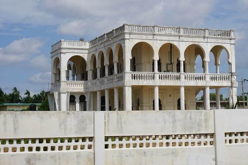 Koloniale Architektur in Lomé