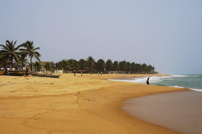 Sandstrand von Baguida, Lomé