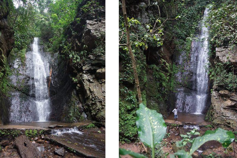 Cascade de Kamalo bei Kpalimé in Togo