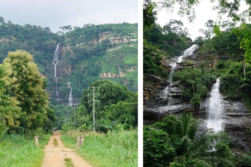 Wasserfall von Kpime bei Kpalimé
