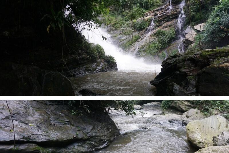 Cascade de Tomegbe bei Kpalimé in Togo