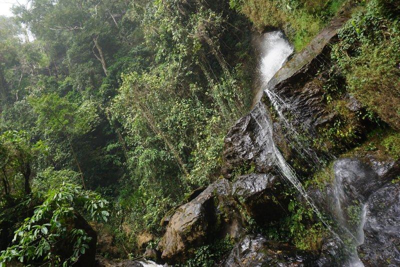 Wasserfall von Kpimé en haut