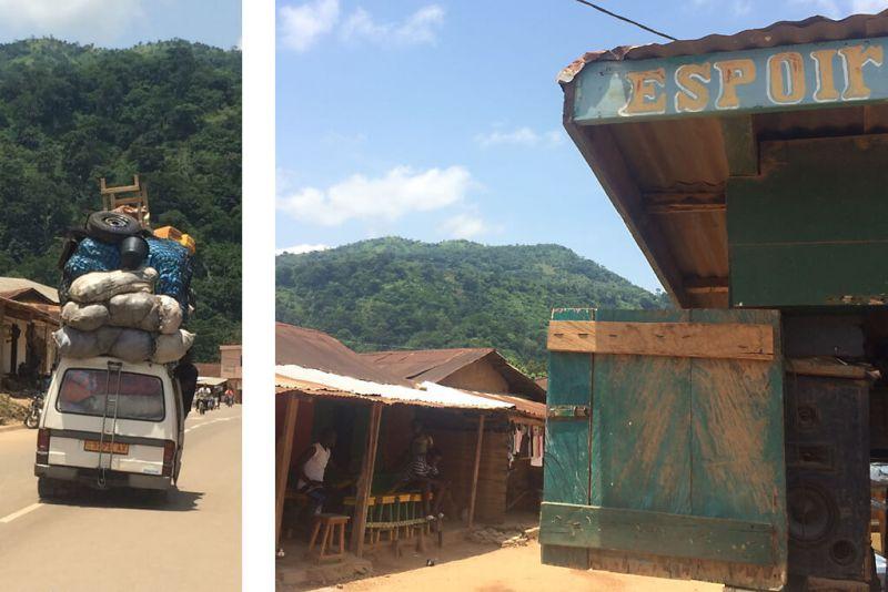 Alltag in Badou in Togo