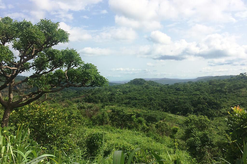 Blick über das Plateau bei Badou