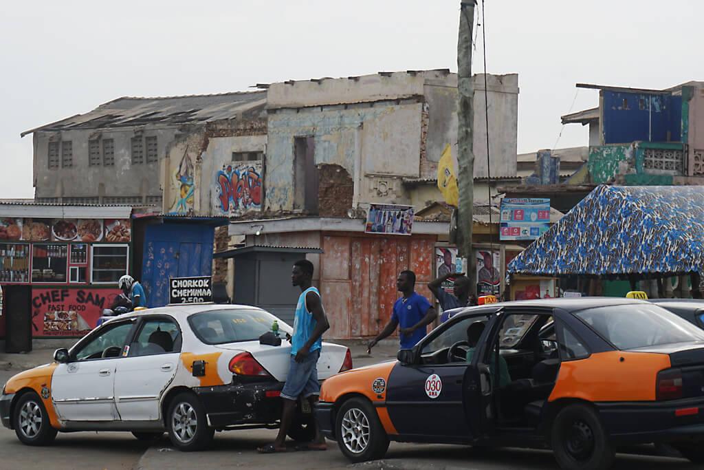 Alte Stadt von Accra