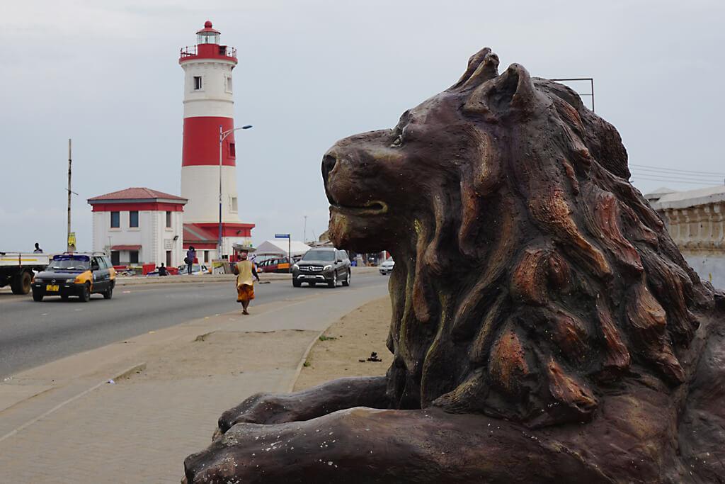 Brittischer Leuchtturm in Jamestown, Accra