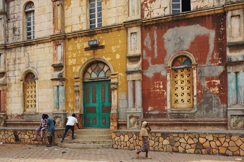 Alte Mosche von Porto-Novo