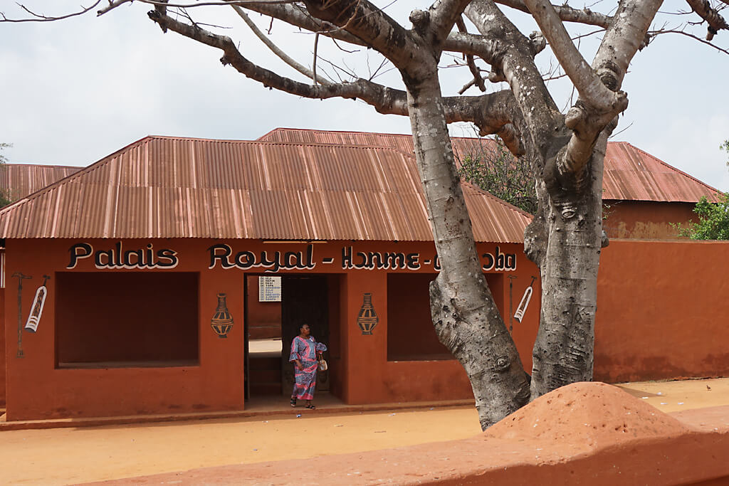 Königspalast in Porto-Novo