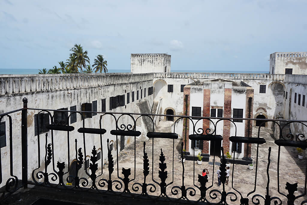 St. Georgs Castle - Sklavenburg in Ghana, Elmina