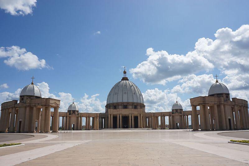 Basilique de Notre Dame in Yamoussoukro in der Elfenbeinküste