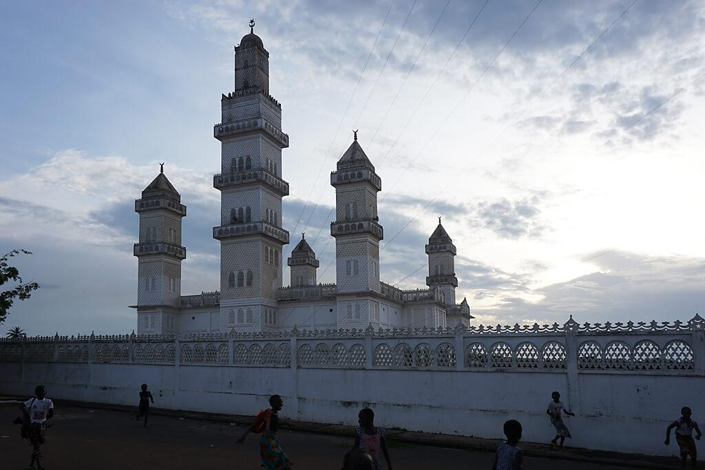 Große Moschee in Yamoussoukro, Elfenbeinküste