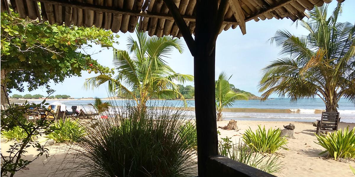 Ghana Strände: Strand Ezile Bay in Ghana