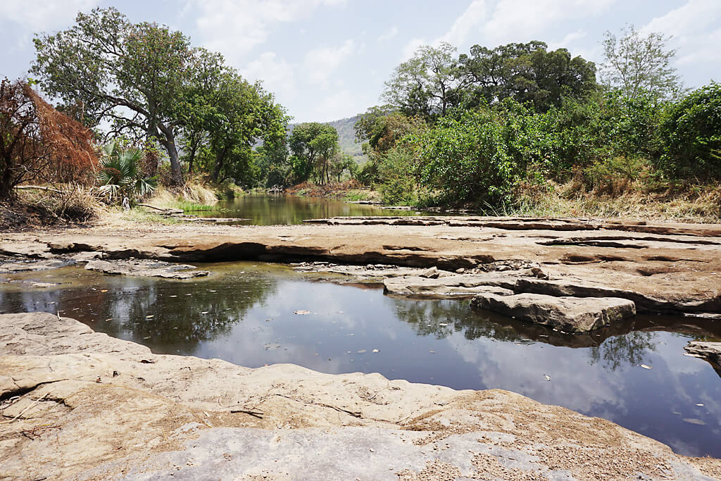 Fosse sacrée de dongue in Togo