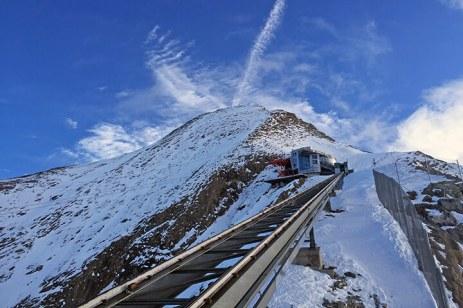 Gipfelstation am Kitzsteinhorn