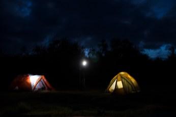 Camping im Aberdare Nationalpark