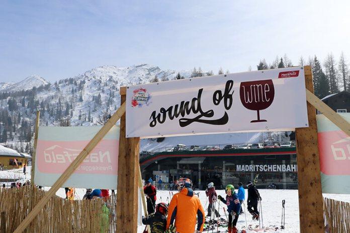 """Sound of Wine am """"Snowbeach"""" der Sonnenalpe Nassfeld"""