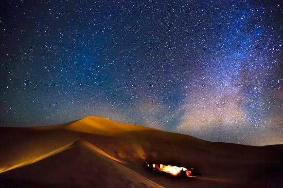 Image result for night in the sahara desert
