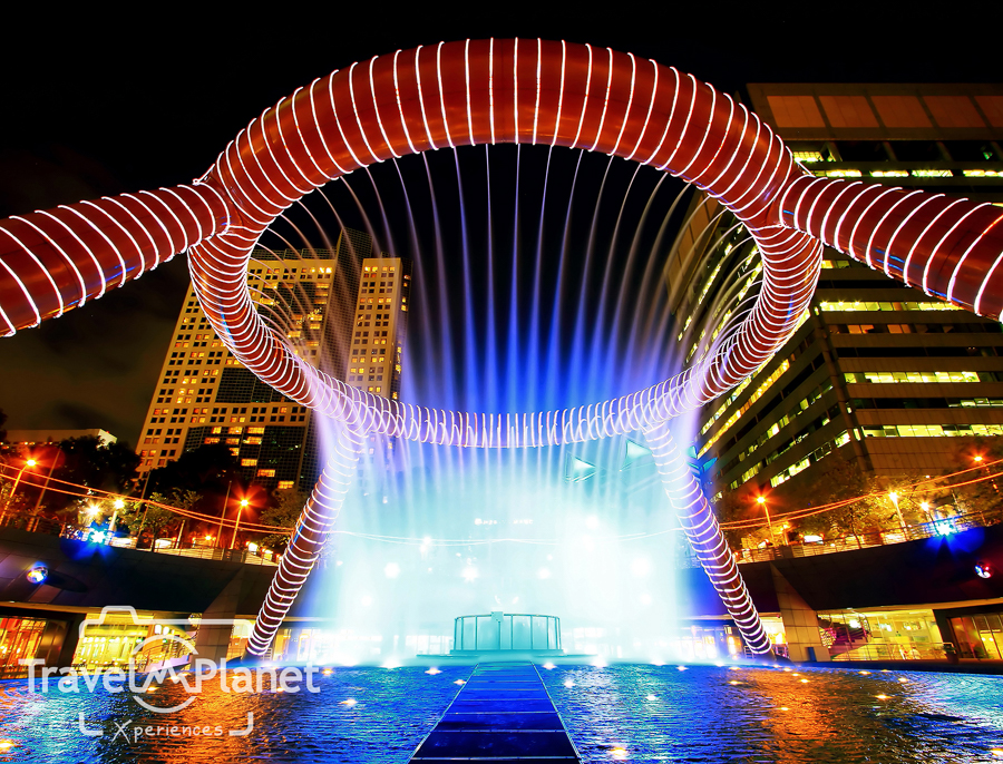 Singapore Fountain of wealth