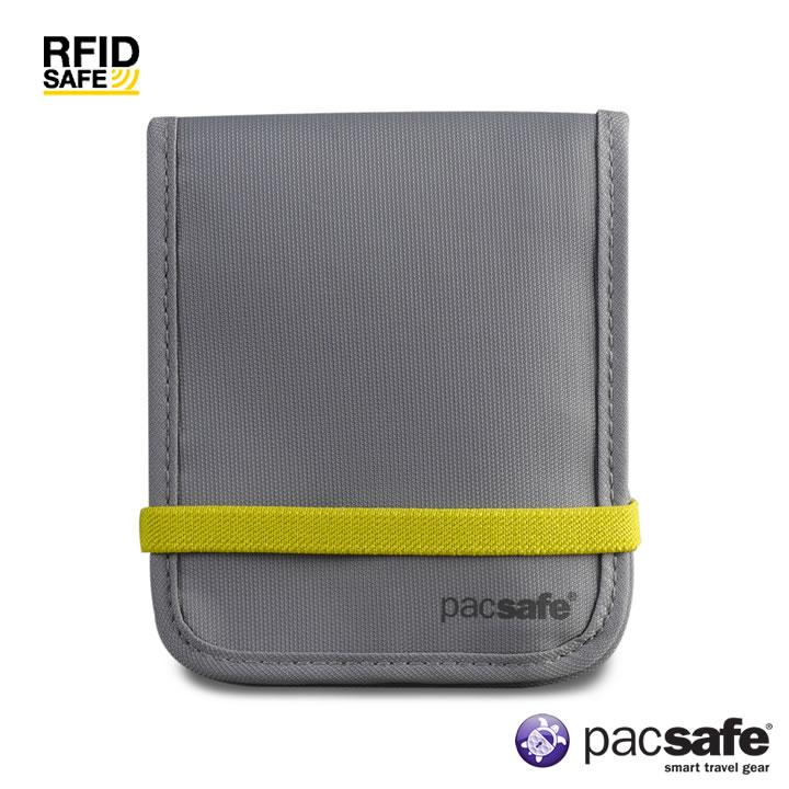 t+樂遊家 戶外旅遊專賣店 產品呈現 Pacsafe PAPE320 RFID-tec 100 防RFID讀取安全錢包 分類:隨身包