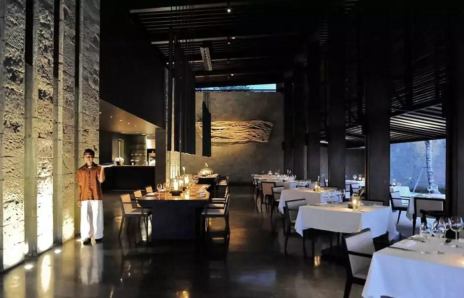 Cotta Restaurant. © Alila Villas Soori
