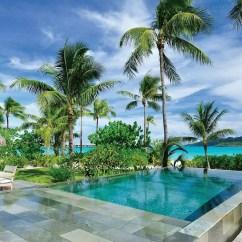 Tropical Living Room In Malaysia Gray Wood Flooring Four Seasons Resort Bora « Luxury Hotels Travelplusstyle