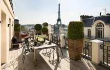 Paris France Hotels Champs Elysees