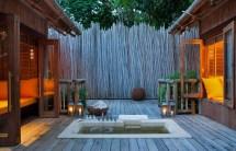 Outdoor Luxury Spa Resort
