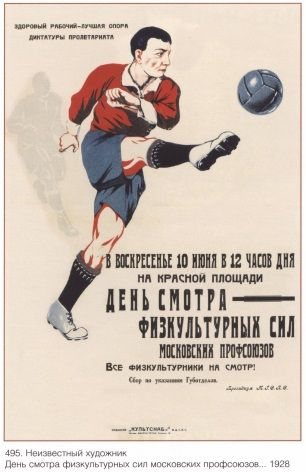 Funny Hd Cartoon Wallpapers Vintage Russian Sports Poster 1928