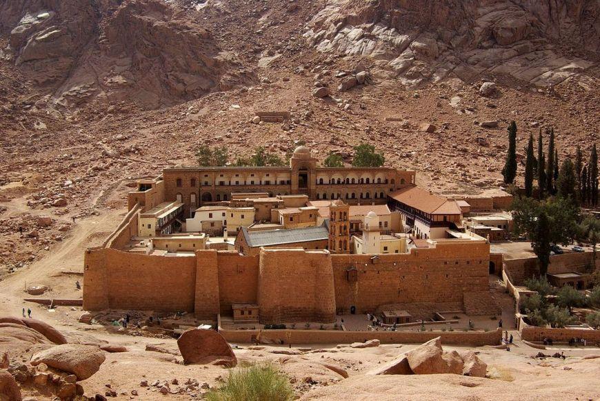 Kláštor sv. Kataríny na Sinaji