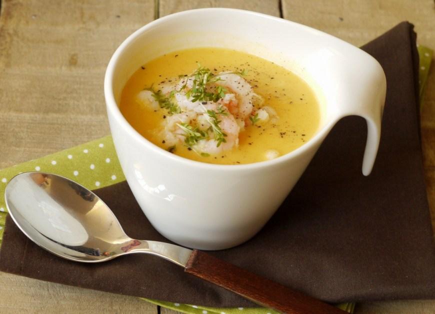 Mrkvová krémová polievka