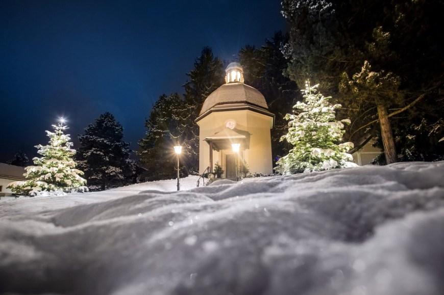 Tichá noc Stille Nacht Kapelle