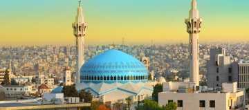 King Abdullah Moskee in Jordanie