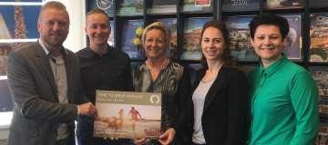 Reisbureau Opmeer wint TIME TO SMILE actie TUI