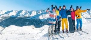 skiopening in Kappl Oostenrijk