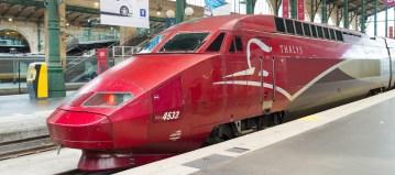 Zakelijke internationale reiziger: trein meest geschikte vervoersmiddel om in te werken