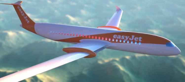 EasyJet ontwikkelt elektrisch vliegtuig