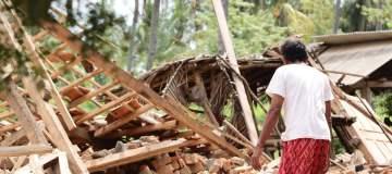 Toeristen bedolven door aardverschuiving op Lombok