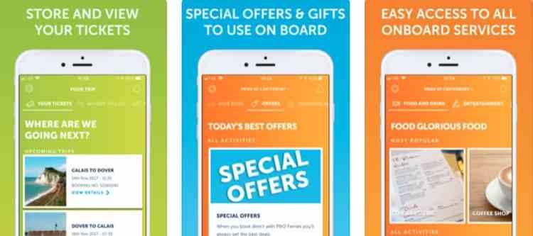 P&O Ferries: papieren tickets overbodig door app