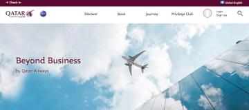 Qatar Airways lanceert 'Beyond Business' voor bedrijven