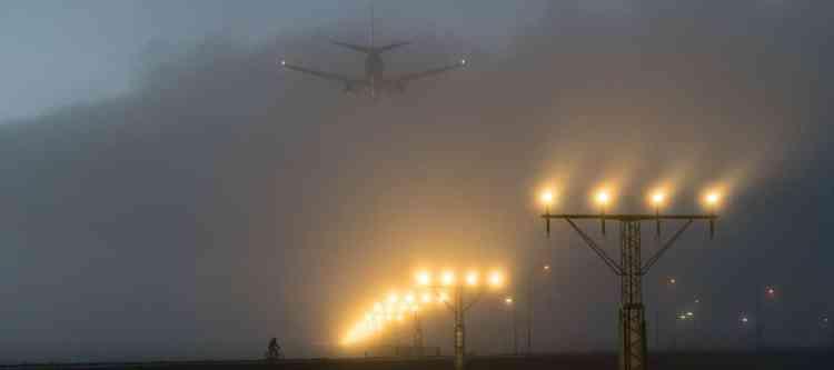 Vluchten Schiphol geschrapt door slechte weer