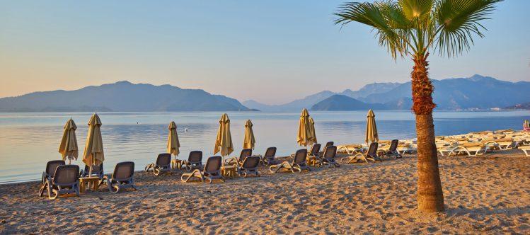 Archiefbeeld: lege stranden in Turkije