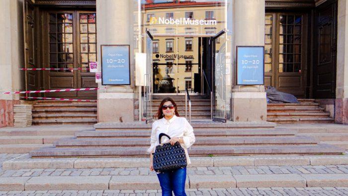 A Visit to Nobel Museum in Stockholm!