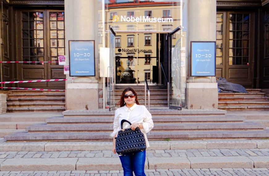 A Visit to Nobel Museum in Stockholm!