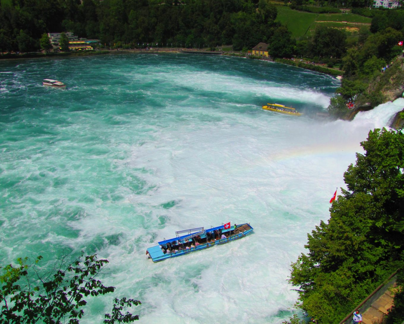 The sound of water - Rhine Falls in Switzerland!